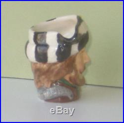 Very Rare Royal Doulton Miniature Trapper Character Jug Excellent Condition