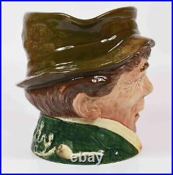 Very Rare Royal Doulton Musical Character Jug Paddy Plays An Irish Jig D5887