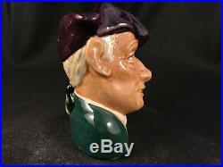 Vintage 1963 Royal Doulton Toby Character Mug Jug'ard Of'earing D 6591 Small