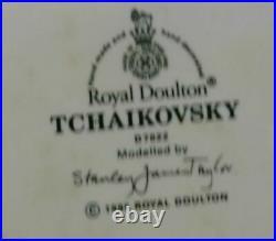 Vintage ROYAL DOULTON TCHAIKOVSKY large sizes CHARACTER JUG -EXCELLENT