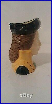 Vintage Royal Doulton Character Jug Catherine Parr D6752 Mini 2 1/2 1987-1989