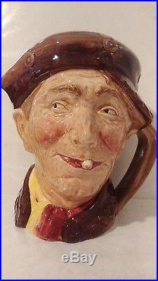 Vintage Royal Doulton Character Jug Pearly Boy D6207 Large 6 1/2 1947 Rare