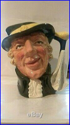 Vintage Royal Doulton Character Jug Regency Beau D6559 7.25 Large 1962-1967