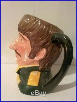Vintage Royal Doulton Character Jug Ringo Starr D6726 5 1/2 MID 1984-1991