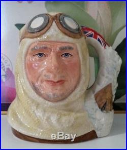 Vintage Royal Doulton Large Character Jug Captain Scott D7116