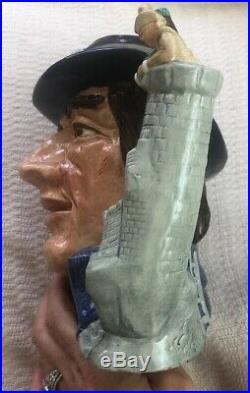 Vintage Royal Doulton Large Character Jug Gulliver D6560 Excellent Condition