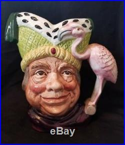 Vintage Royal Doulton Large Character Toby Jug Ugly Duchess #d-6599 Mint