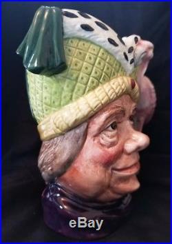 Vintage Royal Doulton Large Character Toby Jug Ugly Duchess #d-6599 Mint