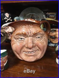 Vintage Royal Doulton Large John Barleycorn Character Jug D5327 England