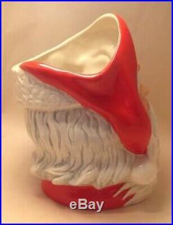 Vintage Royal Doulton Large SANTA CLAUS D6794 Wreath Handle Character Toby Jug