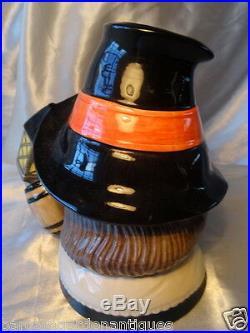 Vintage Royal Doulton Pottery Toby Guy Fawkes Character Jug