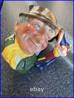 Vintage Royal Doulton Punch & Judy Man D6590 Large Toby Character Jug Excellent