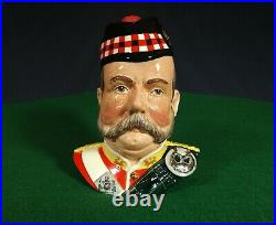 William Grant Scotch Whisky, Royal Doulton Character Jug / Decanter, 1987 Mint