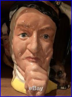 Yellow Hamlet Royal Doulton Character Jug